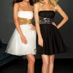Krótkie sukienki na imprezę Sylwestrową